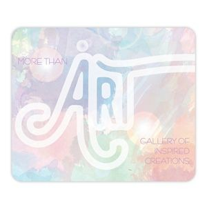 "THINS™ MATTE Plus™ Surface w/Repositionable Backing Mouse Pad (7 3/4""x9 1/4""x.02"")"