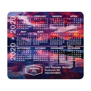 "DuraTrac Matte Plus™ Hard Surface Mouse Pad w/Heavy-Duty Rubber Backing (7 1/2""x9""x1/8"")"